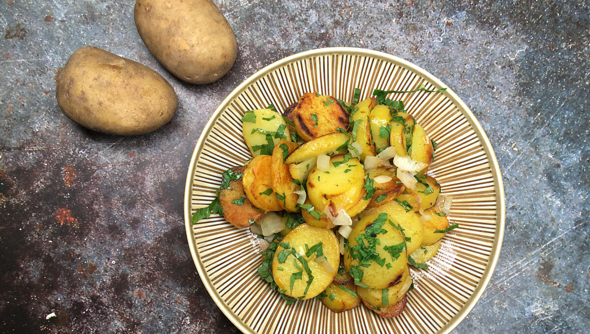 Oregano Bratkartoffeln