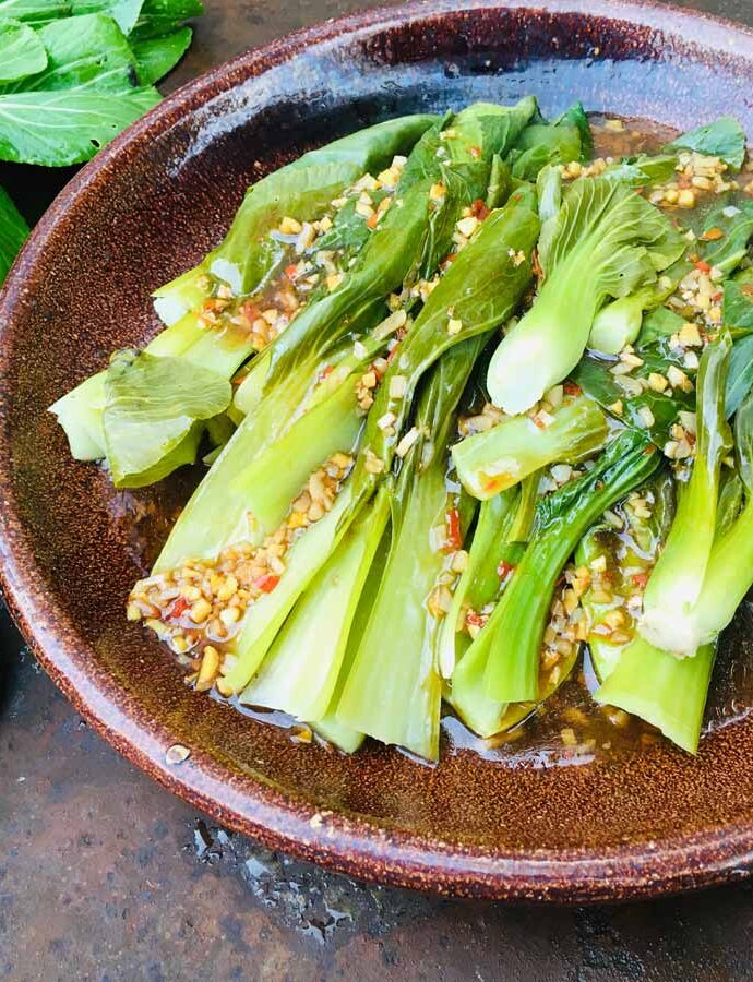 Pak Choi Gemüse